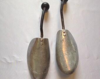 Vintage Aluminum Shoe Forms