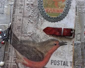 Bird Journal, Nature Journal, Botanicals Journal, scrapbook, memory book, Travel Journal