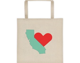 California Love Tote bag Summer Picnic Bag Carry Beach