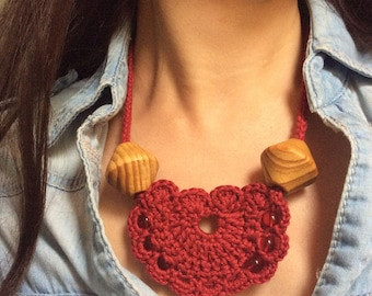 Cowgirl Necklace Crochet