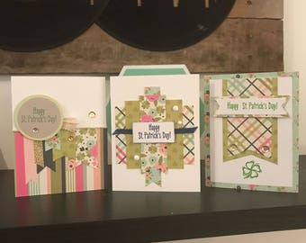Set of 3 St. Patrick's Day cards