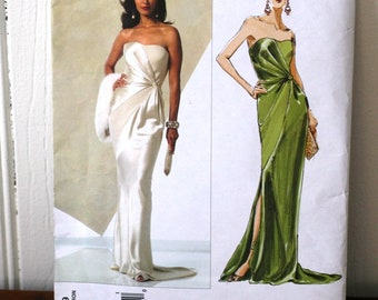 Vogue 2929 Bellville Sassoon Evening Dress sewing pattern