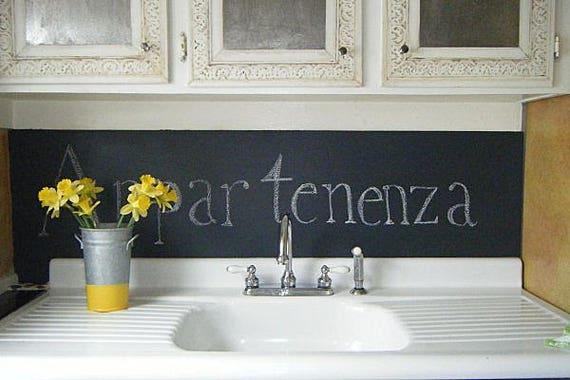 Chalkboard,  Menu,  Pantry Decal, chalkboard decal, Dinner menu, Kitchen Decal, Kitchen art, Chalk Board vinyl decal,  Organize decal, vinyl