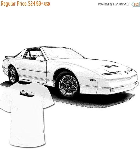 40% OFF SALE Pontiac Firebird 3rd Generation T shirt Trans Am