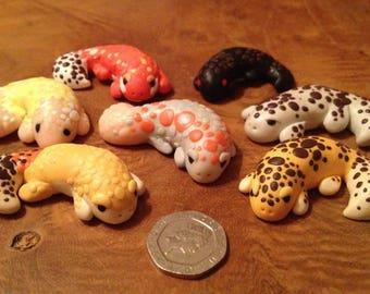 Polymer Clay Leopard Gecko Mystery Bag!