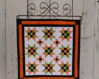 """QUILTING FUN (Quilt Pattern) - """"OCTOBER"""" - Make It Mini - Design by This & That"""