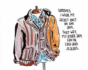 Sometimes I Wear My... Digital Print