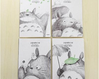 Kawaii/ Cute A5 Totoro/ Line Brown lined notebook 1pc
