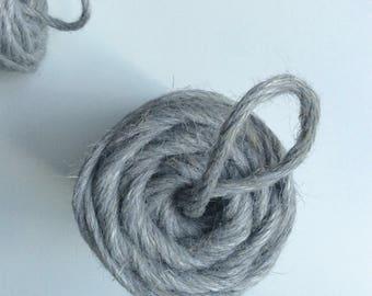 Grey Mist* Hoooked Natural Jute, coloured jute, macrame jute supplies, craft supplies, basketry supplies, rug making supplies
