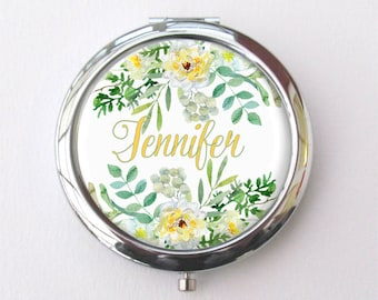Compact Mirror Personalized, Custom Gift For Her