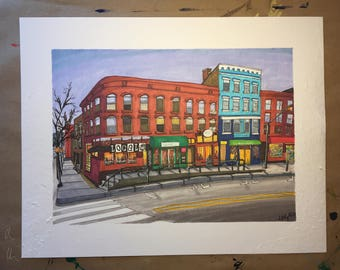 Main Street + Strong Limited Edition Print