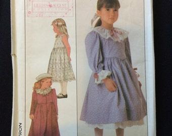 Simplicity 8191 Lillian August girls dress Pattern