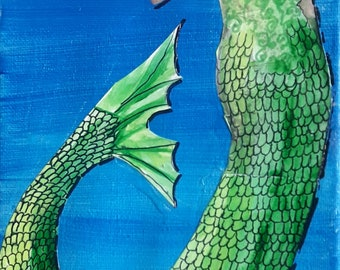 PEARL - Mermaid Artwork