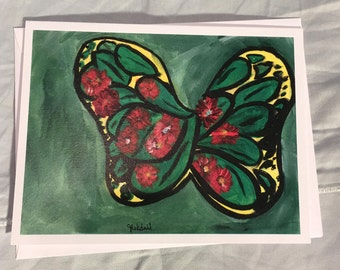 Note Card Butterfly 1