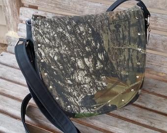 Concealed Carry Purse, Handbag, Camo purse, Cross Body Bag, Concealed Carry Bag,  Shoulder Bag, CC Purse, Black Purse