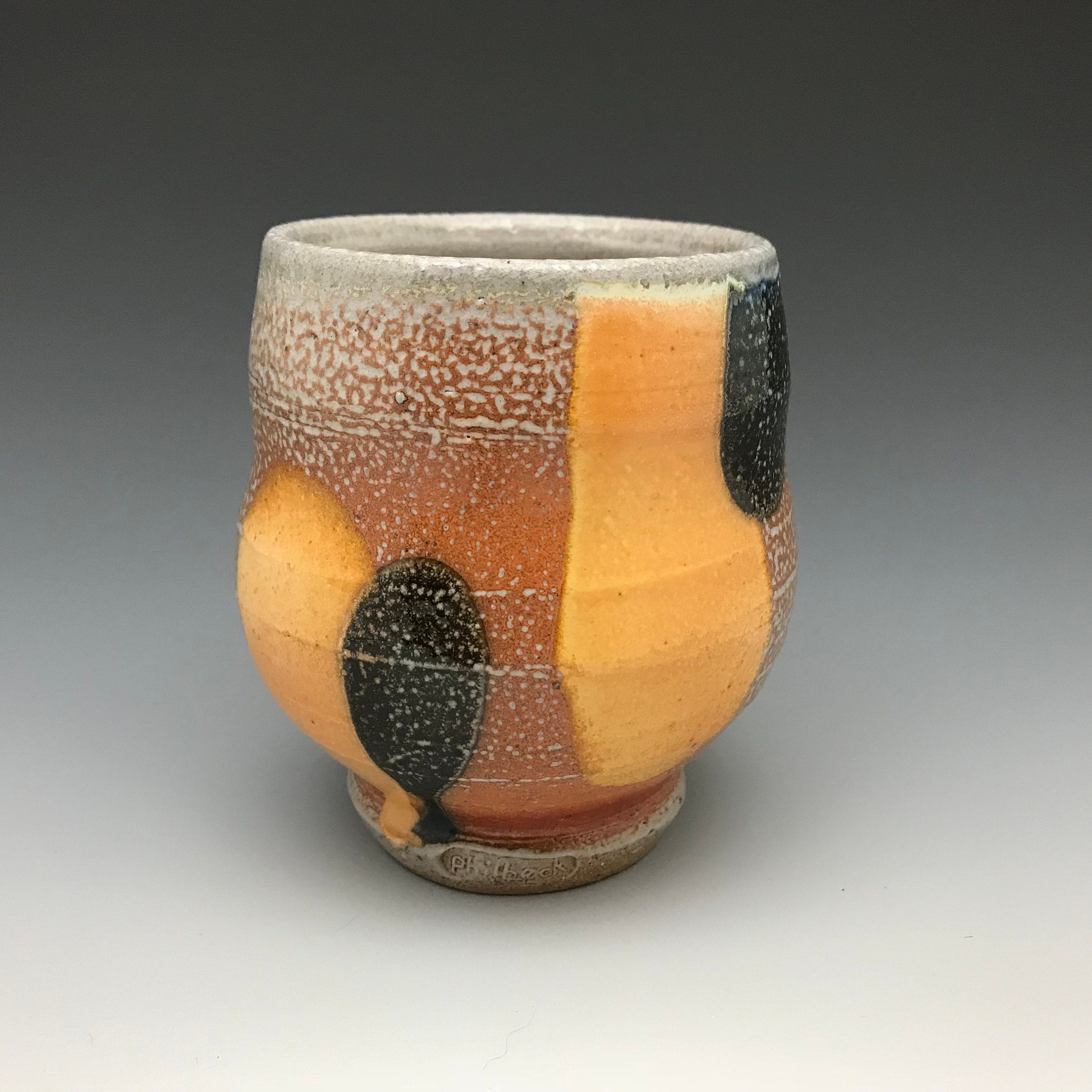 colorful, artistic, and totally unique ceramic tumblers