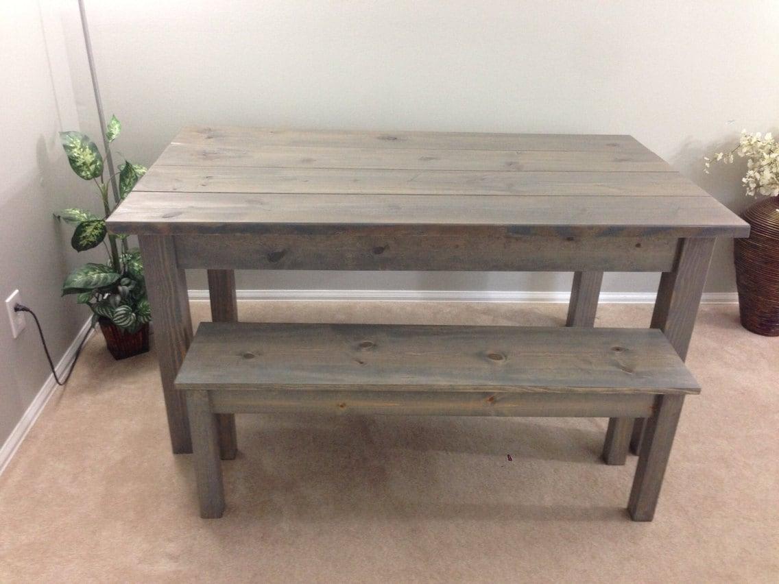 Farmhouse Table Farm Harvest Driftwood Grey