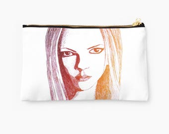 The Mysterious Stare Studio Pouch