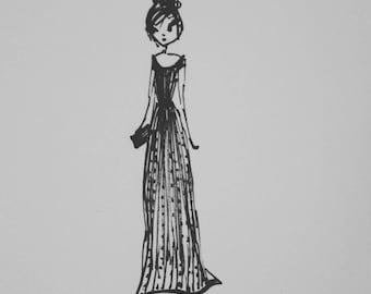 Fashion sketches download