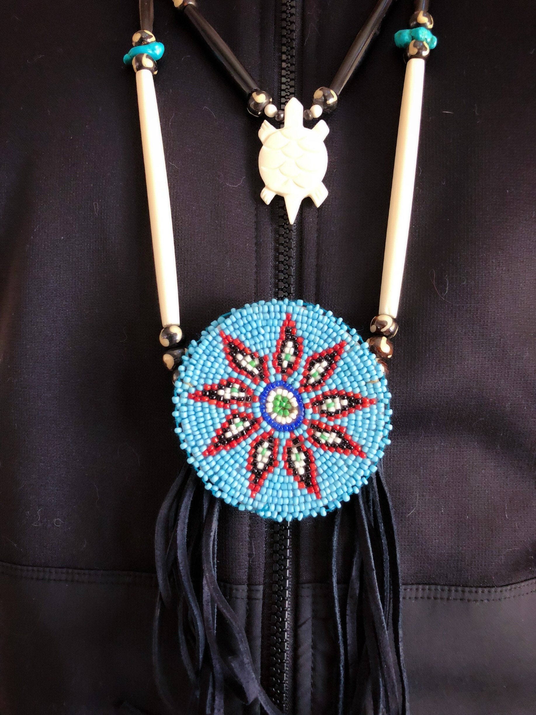 style necklace and jewelry dreamcatchers the native at american breastplate indian westerns americans pin beach