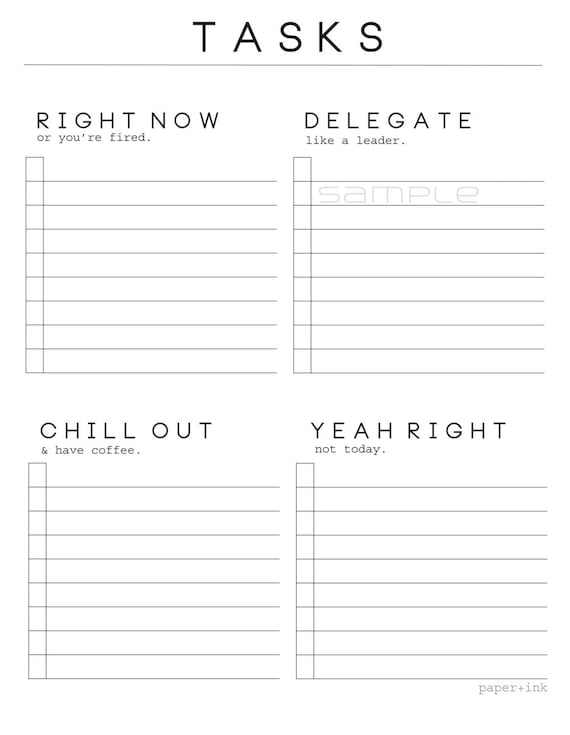Printable Realists Task Sheet Password Log Pdf