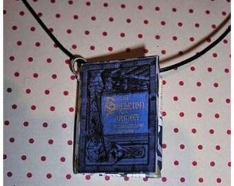 Necklace book Skeleton's armor (Book necklace)
