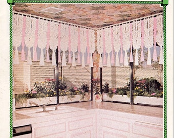 Vintage Julianos Hang It All Book 4 Macrame Patterns eBook PDF Instant Digital Download 12 Unique Retro 1970s Knotwork Projects