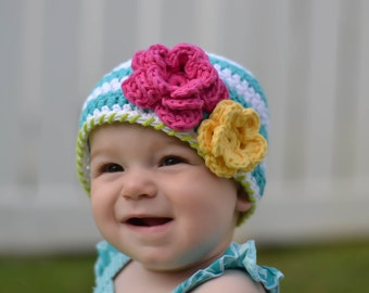 baby hat,girls winter hat, baby girl hat, crochet  baby girls hat, little girls hat, newborn hat, girls hat, crochet girls hat, , winter hat