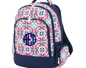 Monogram Mia Tile Backpack