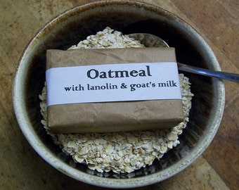 Oatmeal Soap  with Goat's Milk
