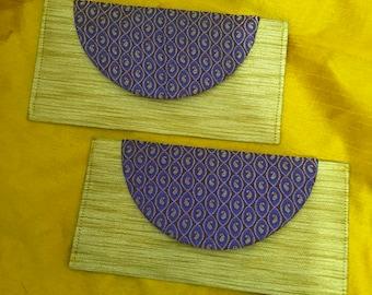 Money Clutches / Money envelope : Set of 2 (0032)