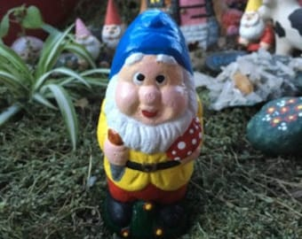 Little Gnome with Mushroom