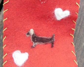 Weiner Dog   Ascot/Scarf