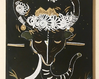 """ORGINAL Acrylic Painting """"MAGICAL HYBRID"""""""