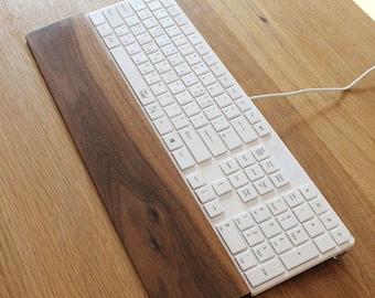 Keyboard Wrist Rest - Walnut