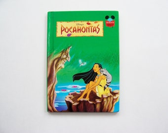 Disney's Pocahontas Book from Disney's Wonderful World of Reading - Children's Book, Story Book, Indian, Disney Princess Book