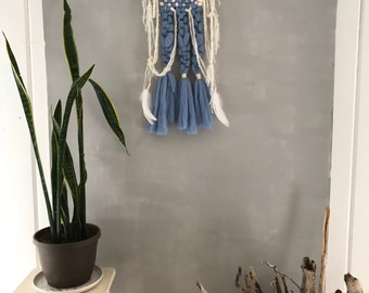 Dreams From the Grandmothers: Macrame Woven Wall Hanging