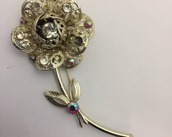 Sarah Coventry Fashion Flower Brooch Lot 343