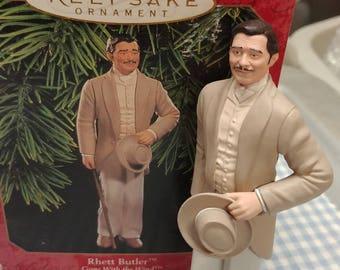 Clark Gable as Rhett Butler Gone With The Wind Hallmark Ornament