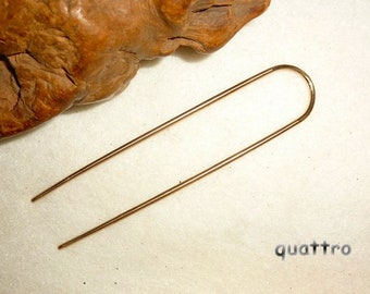 Hair Forks by Quattro - Bronze Basics Hair Fork - RESERVED