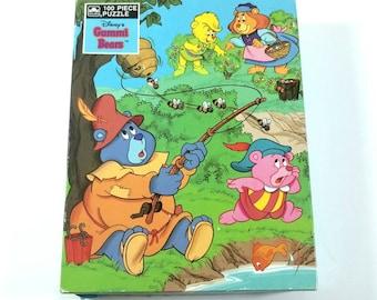Vintage 1985 Disney's Gummi Bears Puzzle