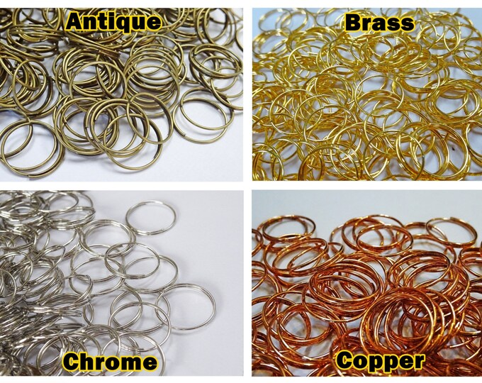Chandelier frame parts seearlights 250 14mm 055 inch metal chandelier rings links make chains garlands of crystals drops beads droplets aloadofball Image collections