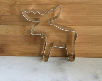 Moose Cookie Cutter, Metal Cutters