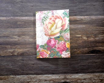 Travelers Notebook Insert - Rose Notebook - Midori Refill - TN Insert - Planning Insert - Bullet Journal - Various Sizes - Fauxdori