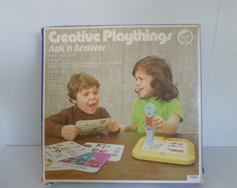 Creative playthings – Ask'n Answer