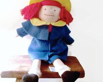Vintage Madeline Doll 1990 Eden Bemelmans Appendix Scar