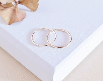 Gold Stack Ring, Gold Ring, Solid Gold Ring, Dainty Ring, Gold Stacking Ring, Gold Jewelry, 9ct Gold Ring, 9ct Gold Band, Simple Gold Ring