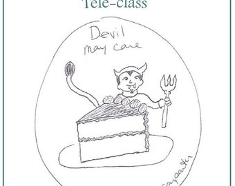 Devil May Care Teleclass Recording and Workbook - self-development class using the tarot archetype of the Devil