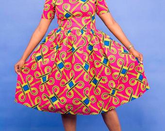 Rhema African Dress