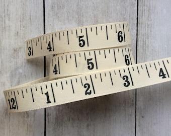 Tape Measure Ribbon Inches